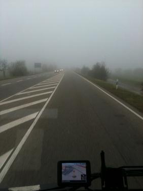 Nebelfahrt