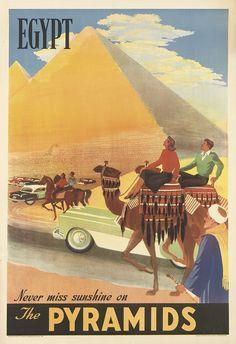 Ägypten Plakat