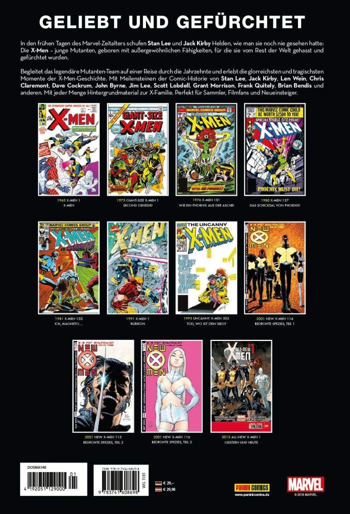 X-Men Rückseite